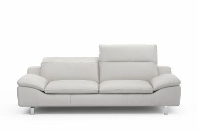 3 Seater Leather Sofa With Adjustable Headrest Prestwood Harveys
