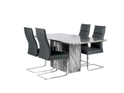 Rovigo Dining Table & 4 Chairs