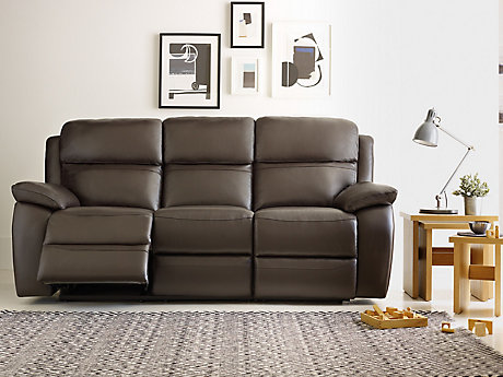 Reclining Sofa Chair Electric Leather Recliner Sofa