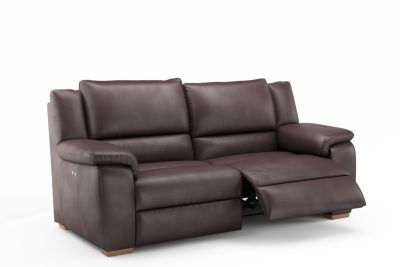 Harveys Finchley 3 Seater Leather Electric Incliner Sofa