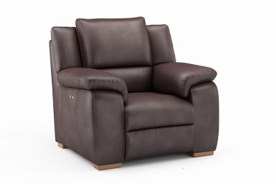 Harveys Finchley Express Electric Incliner Leather Chair