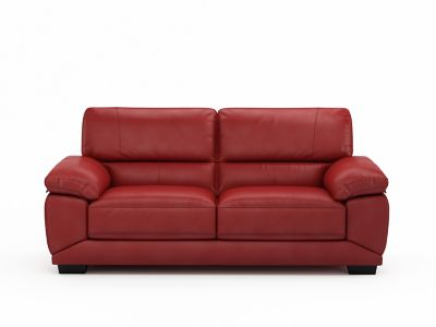 3 Seater Leather Sofa - Harveys Vixon