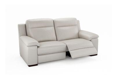 Harveys Serento 3 Seater Leather Electric Recliner Sofa