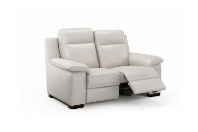 Harveys Serento 2 Seater Leather Electric Recliner Sofa