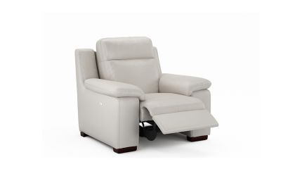 Harveys Serento Electric Recliner Leather Chair