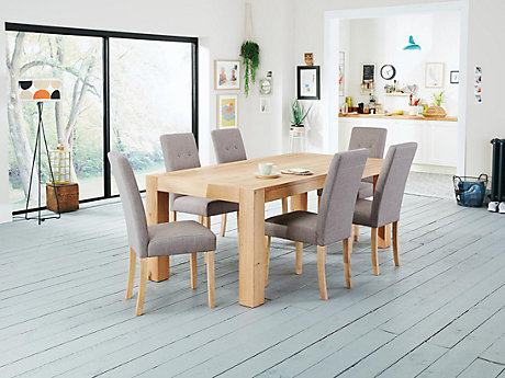 d0151f78ff5f Lindos Dining Table   6 Lucy Chairs ...