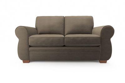 2 Seater Sofa Fabric, Brown - Harveys Evie Graceland - Taupe Express Fabric
