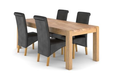 Cargo Portsmore Extending Dining Table & 4 Darcy Chairs