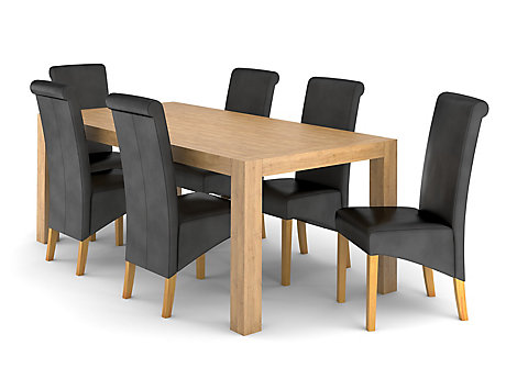 ... Lindos Dining Table U0026 6 Darcy Chairs