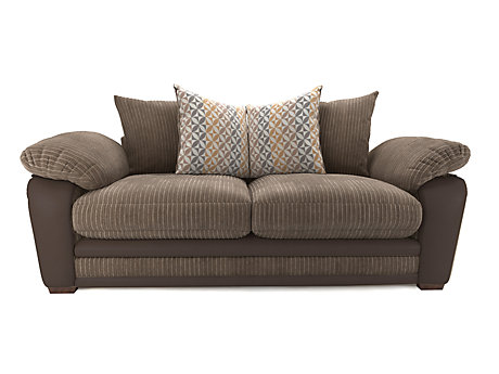 Featherby 3 Seater Pillowback Sofa