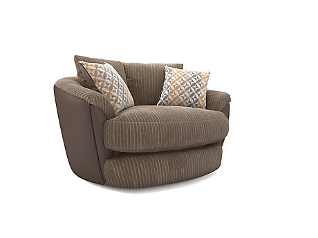 Featherby Cuddler Pillowback Chair ...  sc 1 st  Harveys Furniture & Armchairs - Leather Fabric u0026 Recliner | Harveys Furniture islam-shia.org