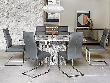 Rovigo Dining Table & 6 Chairs