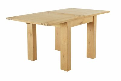 Dovetail Flip Top Extending Dining Table