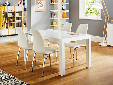 Arlo Extending Dining Table 4 Chairs