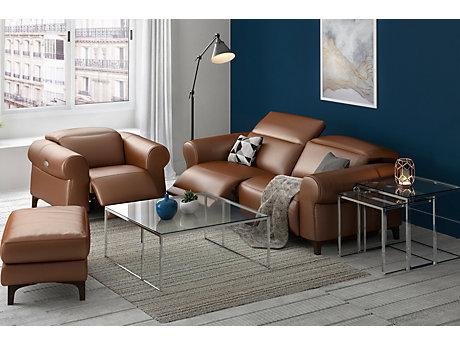 Antonia 3 Seater Incliner Sofa