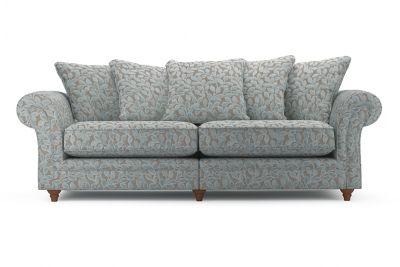 Harveys Ambrose 4 Seater Split Pillow Back Sofa in