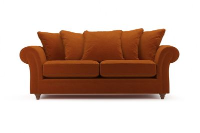 Harveys Ambrose 3 Seater Pillow Back Sofa in SFF (Sundance)