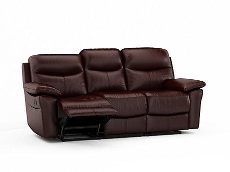 Illinois 3 Seater Recliner Sofa