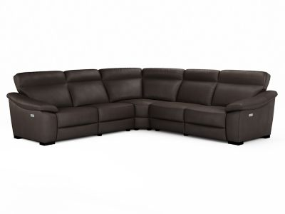 Harveys Tennessee Large Corner Sofa Group With Electric Recliner Actions