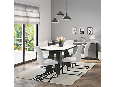 Amalia Dining Table & 6 Chairs