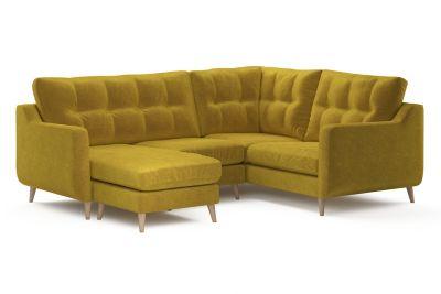 Harveys Edit 03 Compact Corner Sofa Chaise Left Hand Facing in Sundance Plain
