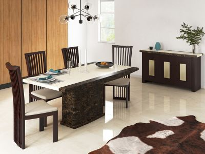 Naples Dining Table & 4 Chairs