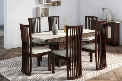 Naples Dining Table & 6 Chairs