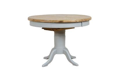 Harveys Brockenhurst Round Dining Table solid oak, Table Shape: Round