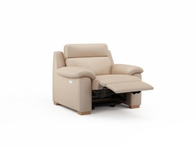 Harveys Albertino Leather Chair with Electric Incliner Action