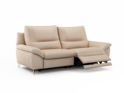 Harveys Balotelli 3 Seater Leather with 2 Electric Incliner Actions