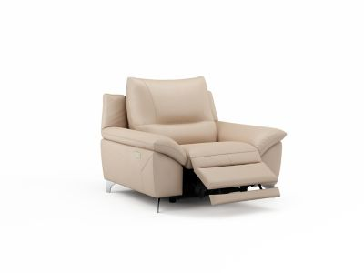 Harveys Balotelli Leather Chair with Electric Incliner Action