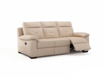 Harveys Alfonso 3 Seater Leather with Electric Incliner Action