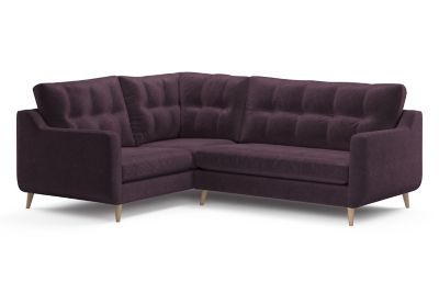 Harveys Edit 03 Compact Corner Sofa Right Hand Facing in Luxor Plain