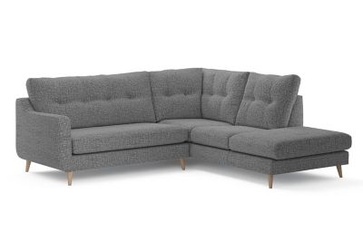 Harveys Edit 03 Open Corner Sofa Right Hand Facing in Ealing Plain SRC