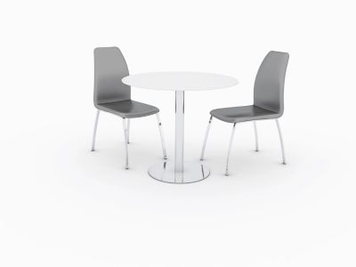 Ezra Dining Table & 2 Arlo Chairs