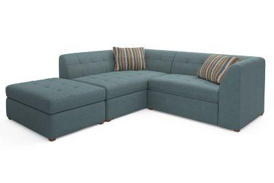 Harveys Tranquil Left Hand Facing Corner Sofa Chaise Sofabed With Storage