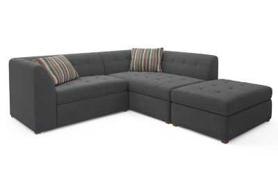 Harveys Tranquil Right Hand Facing Corner Sofa Chaise Sofabed With Storage