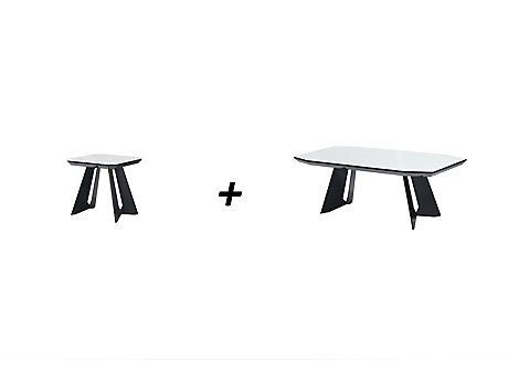 Amalia Lamp Table + Coffee Table