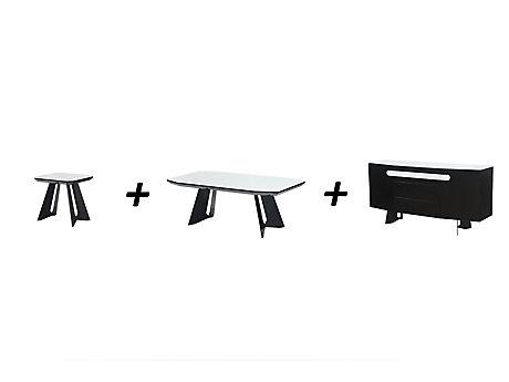 Amalia Lamp Table + Coffee Table + Sideboard