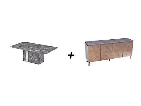 Rovigo Coffee Table + Sideboard