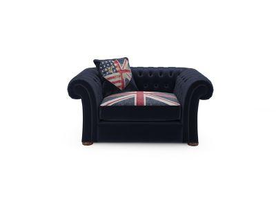 Union Jack Winslet Love Seat