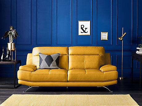 Leather Sofas | Faux Leather Sofas | Harveys Furniture