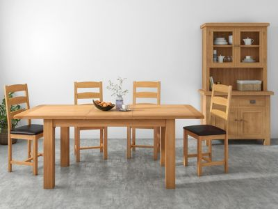 Brackley Extending Dining Table & 4 Chairs