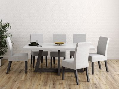 Lexham Dining Table & 6 Chairs