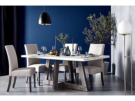 Lexham Dining Table & 4 Chairs