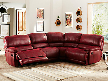 Guvnor Left Hand Facing Recliner Corner Group ...  sc 1 st  Harveys Furniture & Corner Sofas - Leather u0026 Fabric Suites | Harveys Furniture islam-shia.org