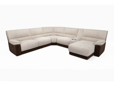 Ashton Right Hand Facing Corner Group With Chaise & Media Tray