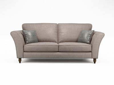 Elixer 3 Seater Standardback Sofa with Studs
