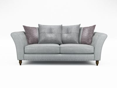 Elixer 3 Seater Pillowback Sofa