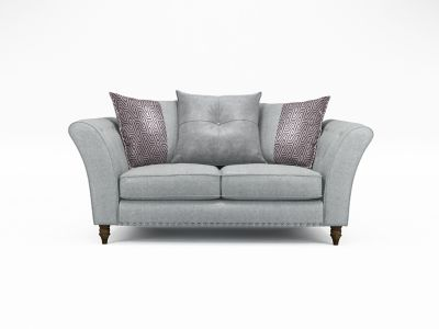 Elixer 2 Seater Pillowback Sofa with Studs